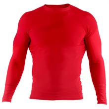 Red Long Sleeve Rashguard